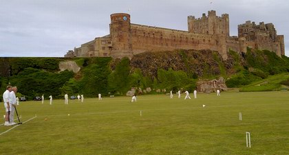 Croquet, cricket and castle